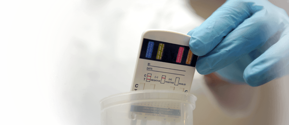 rapid urine drug testing vs lab urine testing
